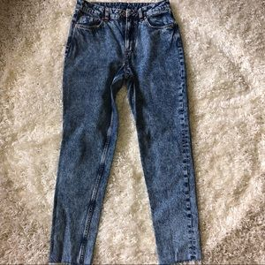 H&M Divided High-Waisted Jeans Size 8